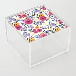 Spring Floral Bouquet Acrylic Box