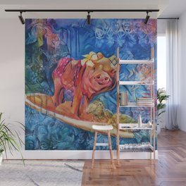 Beyond the Surf Wall Mural
