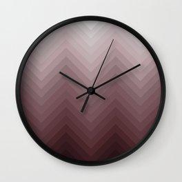 Roseate Wall Clock