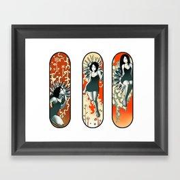 3 Ladies Framed Art Print