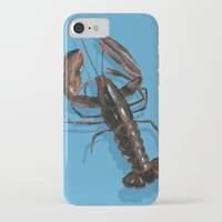 lobster iPhone & iPod Cases featuring Lobster by Trinity Mitchell