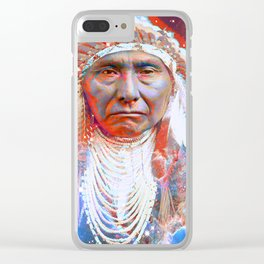 Crazy Horse Clear iPhone Case