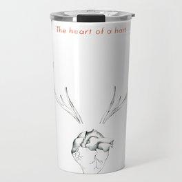 The Heart of a Hart Travel Mug