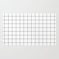 grid Area & Throw Rugs featuring grid by 550am