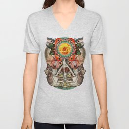 Losing the Human Form (Part 2) Unisex V-Neck