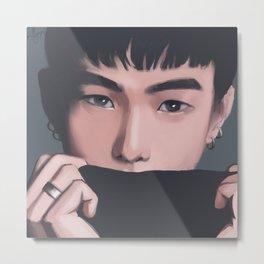 """iKON Donghyuk """"ocean eyes"""" Metal Print"""