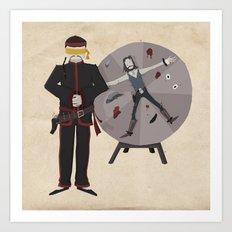 Frontier Acupuncturist Art Print