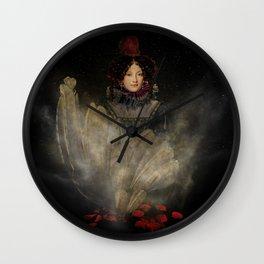 Emerging Beauty Wall Clock