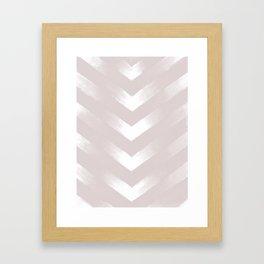 Blush Point Framed Art Print