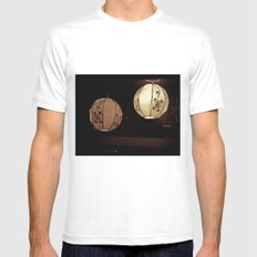 DECORATIVE LAMPS SMALL White Mens Fitted Tee