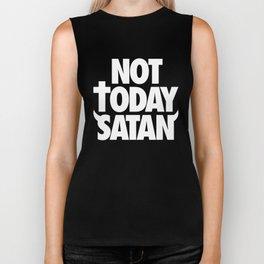 Not Today Satan Biker Tank