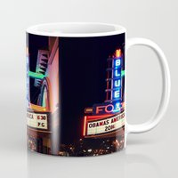 theater Mugs featuring Old Theater by americansummers