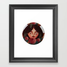 Blushing Beauty Framed Art Print
