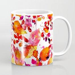 Vintage watercolor autumn leaves Coffee Mug
