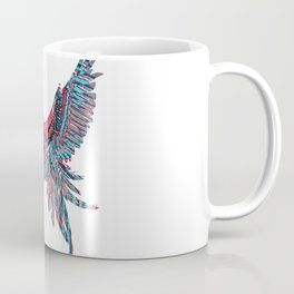 Minimal Abstract Bird Coffee Mug