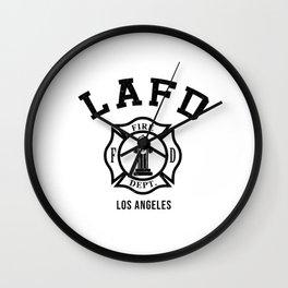 Firefighters LA Wall Clock