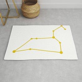 Leo (Gold & White) Rug