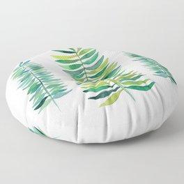Three Ferns Floor Pillow