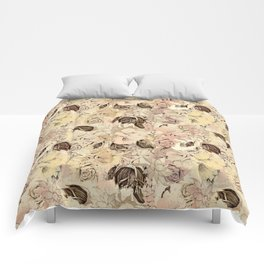 pattern Flowers Comforters