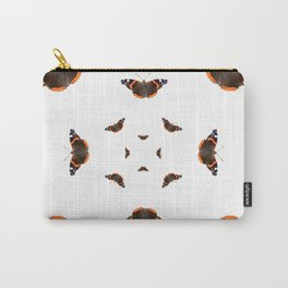 """Butterflies of the specie """"Vanessa atalanta"""" Carry-All Pouch"""