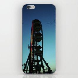 Ferris Wheel and the Flock of Birds iPhone Skin