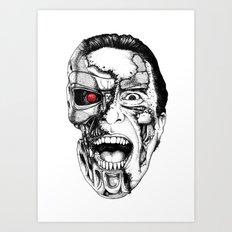 The all new Terminators. The psychopath Art Print
