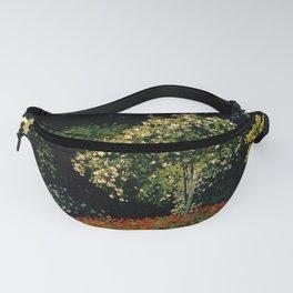 """Claude Monet """"Woman in garden (Femme au jardin)"""" Fanny Pack"""