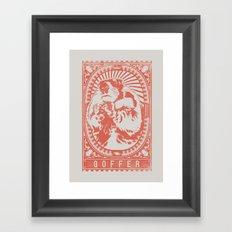 Goffer Framed Art Print