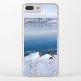 Bear Lake Beauty Clear iPhone Case