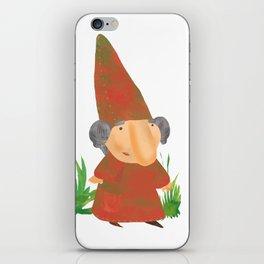 Wilhelmina the Gnome iPhone Skin