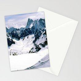 Chamonix Aiguille du Midi French Alps France Stationery Cards