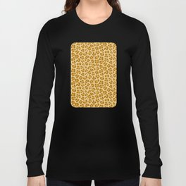 Leopard - Spicy Mustard Long Sleeve T-shirt