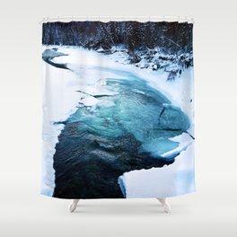 River Monster Shower Curtain