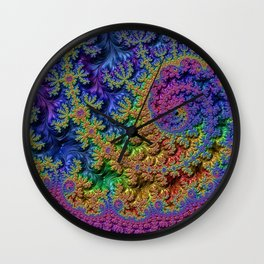 Techno Drop Wall Clock