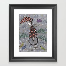 Rainbirds Framed Art Print