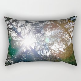 Shine through. Rectangular Pillow