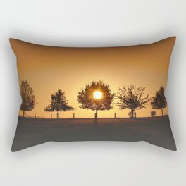 Beautiful Nature Panorama Rectangular Pillow
