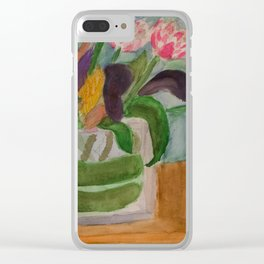 From Elizabeth to Mom Clear iPhone Case