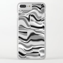 Abstract pattern 156 Clear iPhone Case