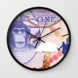 A Pound of Flesh Wall Clock