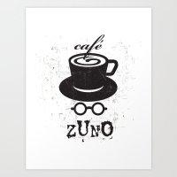 Cafe Zuno Art Print