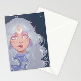 lunar soul Stationery Cards