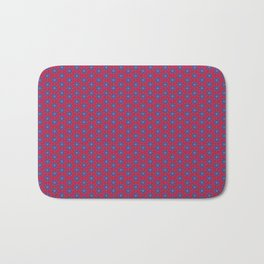 Ruby Mandalas Bath Mat