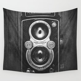 The King of Cameras - The Rolleiflex Wall Tapestry