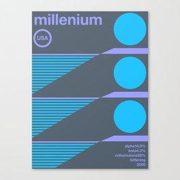 millenium single hop Canvas Print