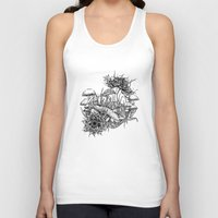 frog Tank Tops featuring Frog by Corinne Elyse