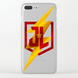 Speed Man Clear iPhone Case