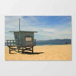 Beach Chillax Canvas Print