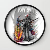 viking Wall Clocks featuring viking by ururuty
