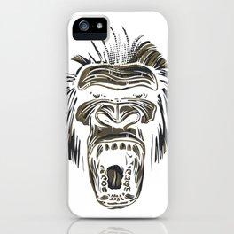 GORILLA KING KONG iPhone Case